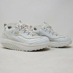 Skechers Womens Shape Ups 11800 White Fitness Shoe